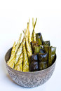 Thailand traditional dessert Royalty Free Stock Photos