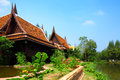 Thailand traditional house at day time Stock Image