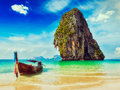 Thailand tropical vacation concept background Royalty Free Stock Photo