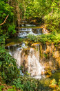 Thailand waterfall in the forest of Stock Images