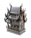 Thailand wood toy house Royalty Free Stock Photo