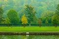 Thames River Landscape. Autumn...