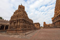 Thanjavur temple india state of tamil nadu Royalty Free Stock Images