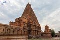 Thanjavur temple india state of tamil nadu Royalty Free Stock Photo