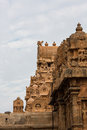 Thanjavur temple india state of tamil nadu Stock Images