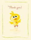 Thank you card Royalty Free Stock Photo