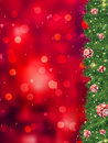 Thank you card a bright christmas. EPS 8 Royalty Free Stock Image
