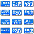 Thank you icons an image of a Stock Photos