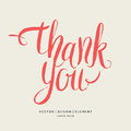 Thank you. Modern hand drawn lettering phrase.
