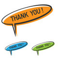 Thank you sign Royalty Free Stock Image