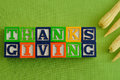 Thanks giving Royalty Free Stock Photo