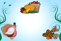 Thanksgiving Background 2 Stock Image