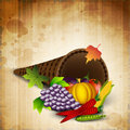 Thanksgiving background. Stock Photography
