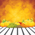 Thanksgiving background beautiful holiday vector Royalty Free Stock Image
