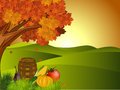 Thanksgiving background. EPS 10. Royalty Free Stock Photography