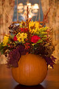 Thanksgiving Centerpiece Royalty Free Stock Images