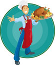Thanksgiving Chef Royalty Free Stock Photography