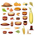 Thanksgiving Collection Royalty Free Stock Images