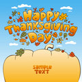 Thanksgiving Day. Royalty Free Stock Photos