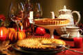 Thanksgiving desserts Stock Images