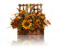 Thanksgiving Flowers Royalty Free Stock Photo