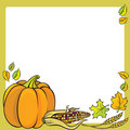Thanksgiving Frame Stock Image
