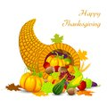 Thanksgiving harvesting festival easy to edit vector illustration of Stock Photography