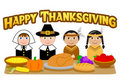 Thanksgiving Pilgrims and Indians/eps