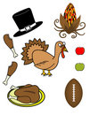 Thanksgiving Theme! Vector / Clip Art Stock Images
