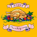 Thanksgiving turkey Royalty Free Stock Photos