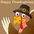 Thanksgiving Turkey Background Stock Photo
