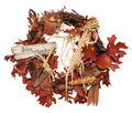 Thanksgiving Wreath Royalty Free Stock Photo