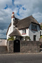 Thatch Cottage Royalty Free Stock Photo