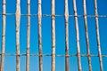 Thatch fence Stock Photos