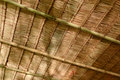 Thatch roof background thai ancient house Royalty Free Stock Photography