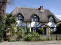 Thatched Cottage Royalty Free Stock Image