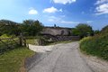 Thatched Cottage Devon Royalty Free Stock Photo