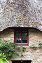 Thatched cottage - front Stock Photography