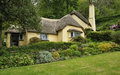 Thatched Cottage Royalty Free Stock Photo