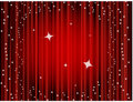 Theater curtain background, movie curtain Royalty Free Stock Photo