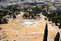 Theater of Dionysus, Athens, Greece Stock Photography