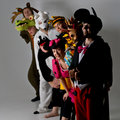 Theater Group In Animal Costumes