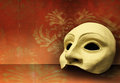 Theater mask beautiful elegant composition of one classic Royalty Free Stock Photo