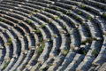 Theater Rows In Ephesus Royalty Free Stock Image