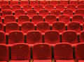 THEATER SEATINGS Stock Images