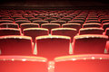 Theater seats Royalty Free Stock Photos