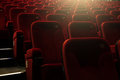 Theater seats Royalty Free Stock Photo