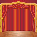 Theater Stage Royalty Free Stock Image