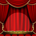Theater stage Royalty Free Stock Photography