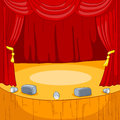Theater Stage Cartoon